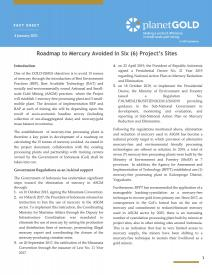 2021 - Roadmap to Mercury Avoided in Six (6) Project's Sites